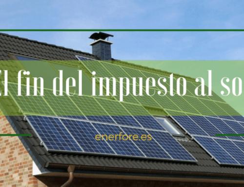 Nueva Proposición de Ley autoconsumo de energía